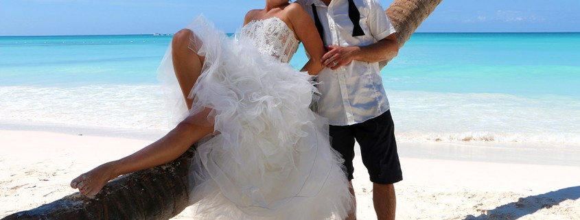 wedding at saona