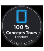 100 pourcent concept tours-product