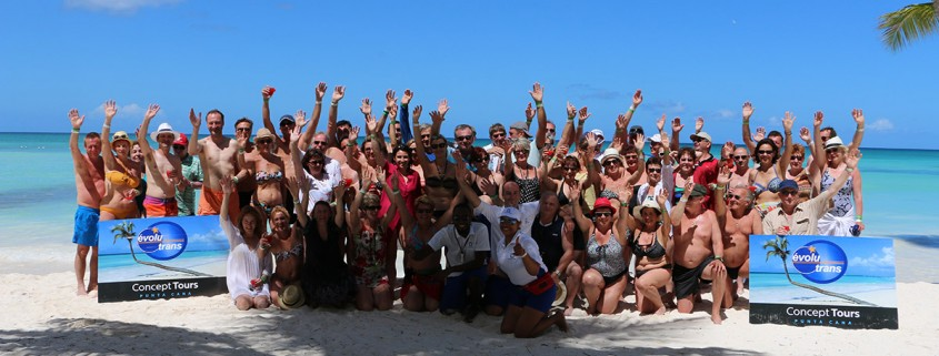 Group tourist punta cana