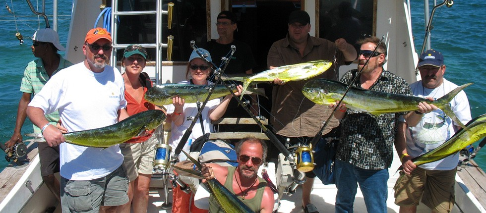 Deep sea fishing lovers