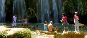 El Limon waterfall. A dreamy area