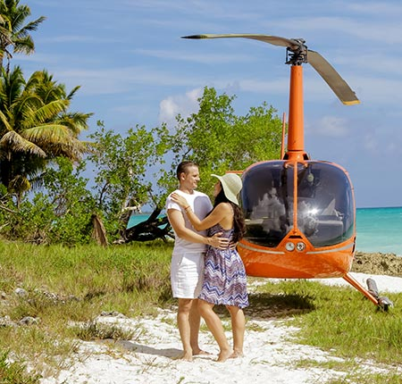 Saona Luxury Helicopter
